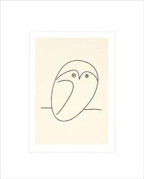 Le Hibou (The Owl) by Pablo Picasso