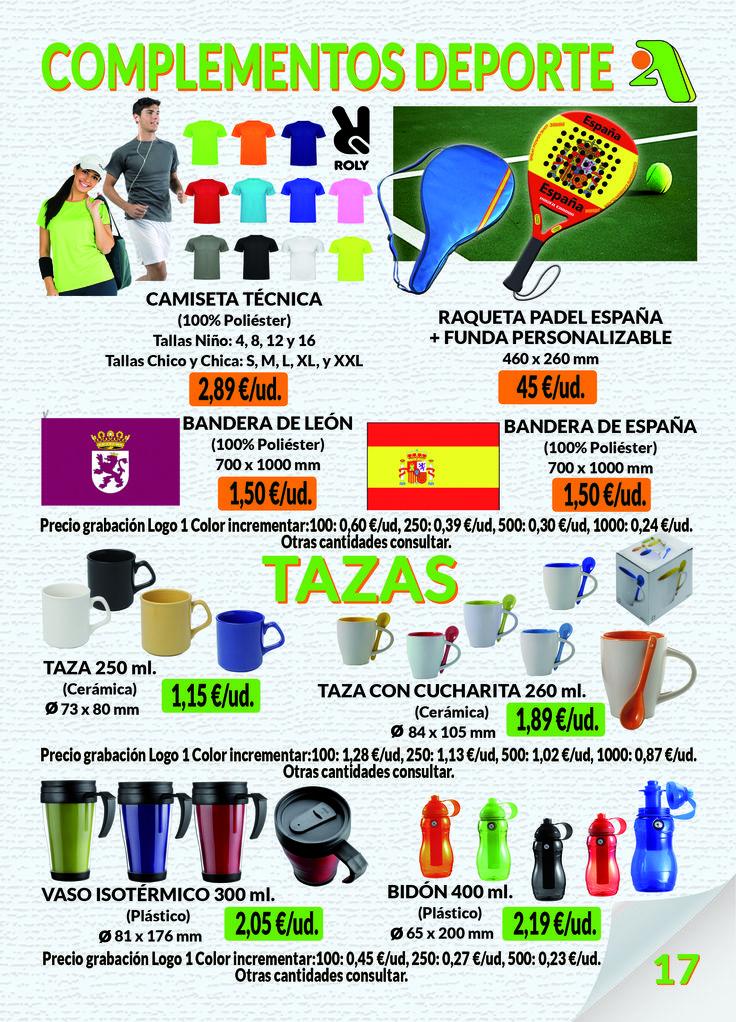 Página 17 - Complementos Deporte & Tazas