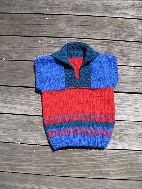 Steppe Vest by knitzippy, via Flickr