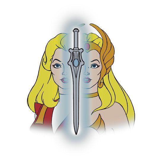 She-Ra Princess of Power - Adora/She-Ra/Sword - Color