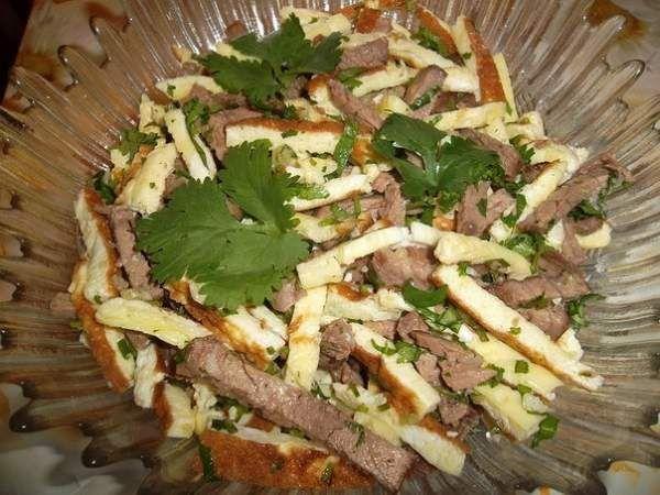 Салат «Малика» (Узбекская кухня)