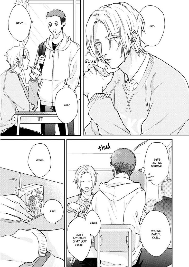 Iyayoiyayo mo kiss no uchi 3 - Read Iyayoiyayo mo kiss no uchi ch.3 Online For Free - Stream 5 Edition 1 Page 4 - MangaPark