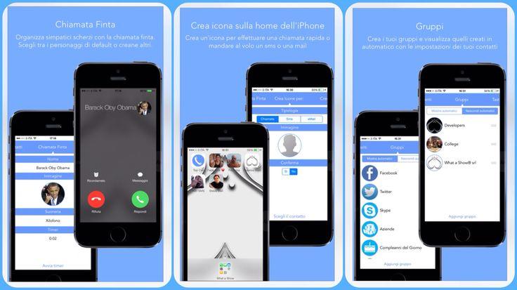 Top Chiamate è in App Store (pienamente compatibile con iOS 8) per completare la gestione di chiamate e contatti sul tuo iPhone: • Creare un'icona del contatto nella home per chiamata rapida, messaggi e mail • Chiamata Finta • Gruppi e Gruppi Automatici • Preferiti • Gestione Contatti • Tastiera intelligente  Fateci sapere cosa ne pensate!  CLICCA QUI per scaricarla: https://itunes.apple.com/it/app/top-chiamate-icona-nella-home/id427132035?mt=8