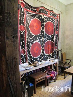 suzani shop http://www.housebeautiful.com/shopping/best-stores/antique-suzani-textile#slide-5