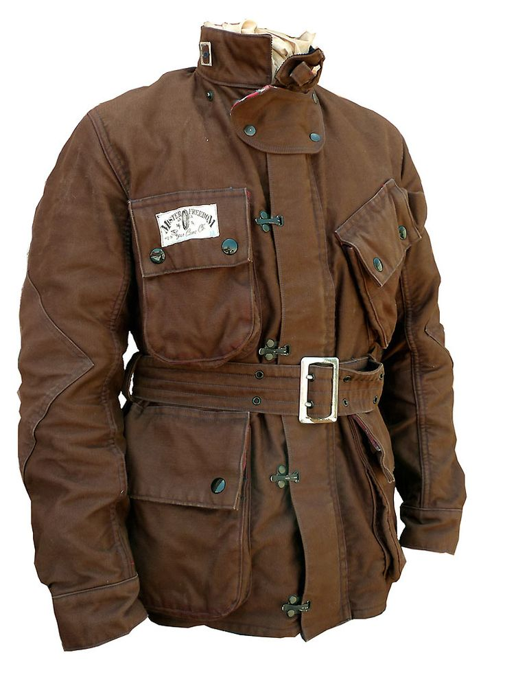 """MISTER FREEDOM Mulholland Masters in brown 