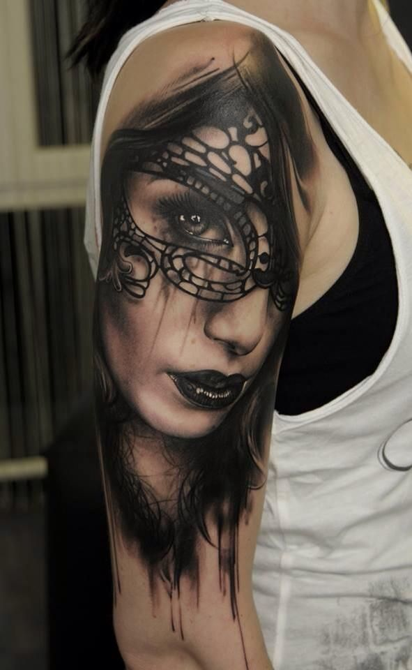 Tattoo by Florian Karg.