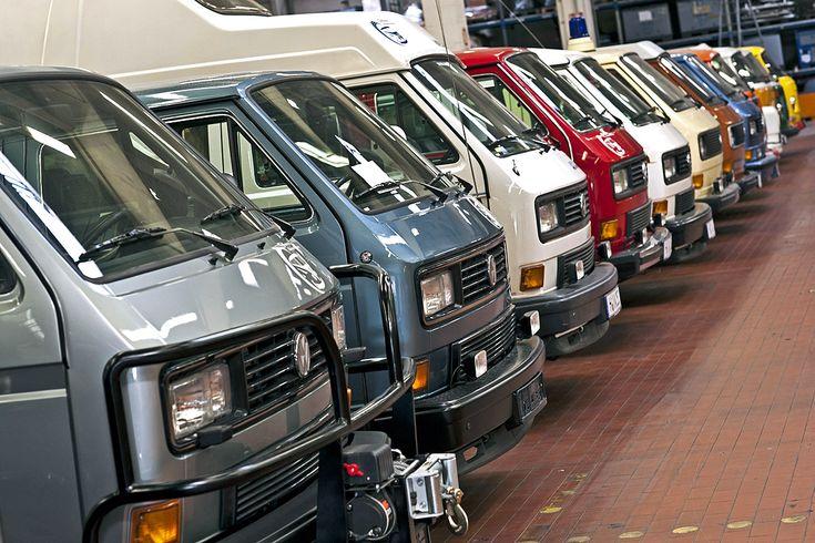 Bilder: VW baut Bulli-Zentrum