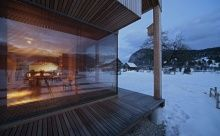 6x11 Alpine hut by OFIS Architects