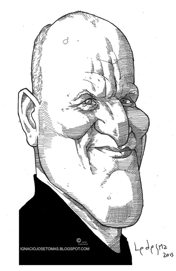 Woody Harrelson, tinta sobre papel,2015.