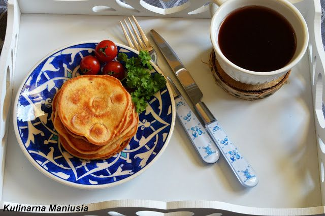 Placki z parówką - Kulinarna Maniusia - blog kulinarny