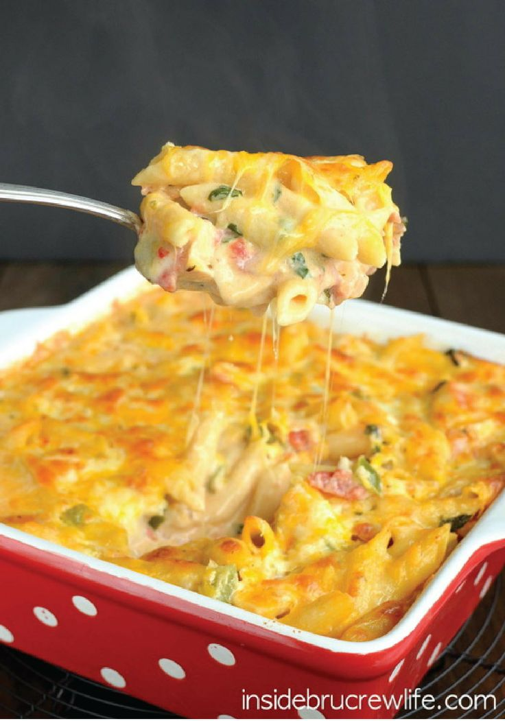 Chicken Bacon Ranch Pasta Bake – Try this easy and delicious pasta bake for dinner tonight! Enjoy this in under 40 minutes.