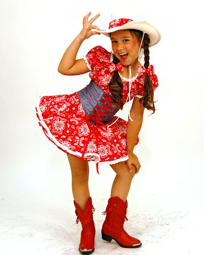 patrotic+pageant+costumes | back to western wear 3600 carrie a bandana dress with eyelet trim a ...