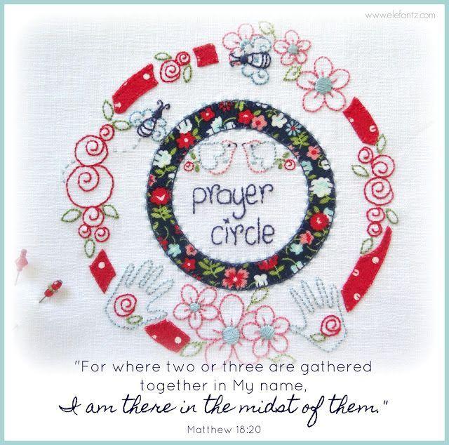 Prayer circle (with free pattern)...