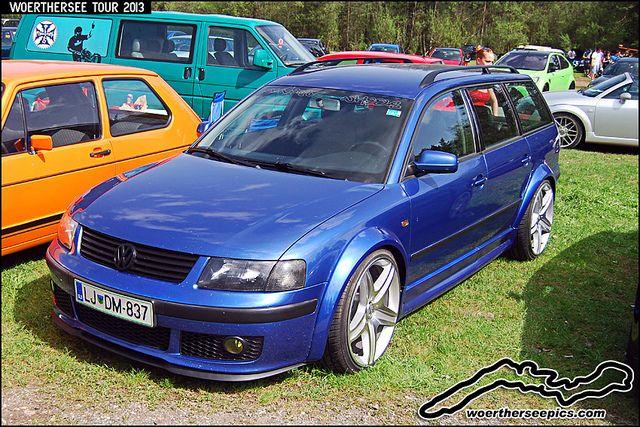 passat b5 wagon | Blue VW Passat B5 wagon at the Woerthersee Tour GTI-Treffen 2013 ...