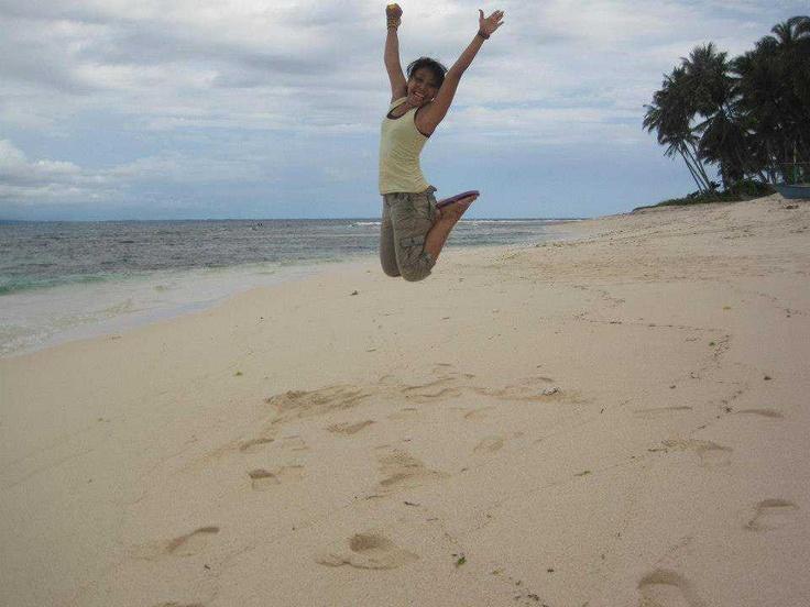 me at Banana Island, Lampung - Indonesia