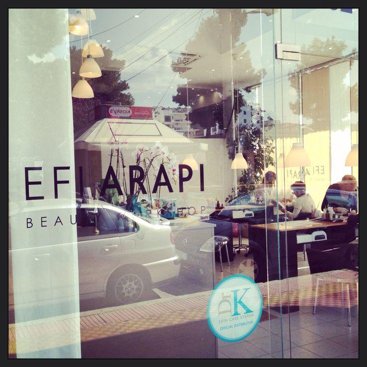 Efi Arapi Beauty Workshop, one more DrK Skincare System Official Spot! #drkshop #nailsandmore #bestnailsalon #efiarapi www.drkskincare.com