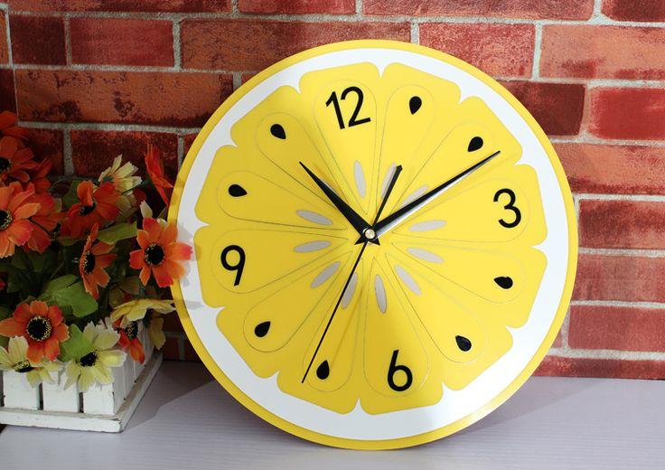 Pi di 25 fantastiche idee su decorazione orologio da for Decorazione limone