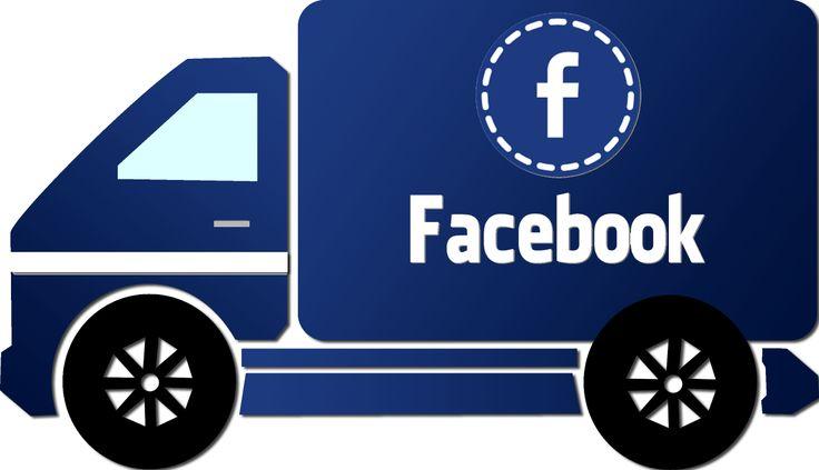 Caminhão Facebook - Facebook truck