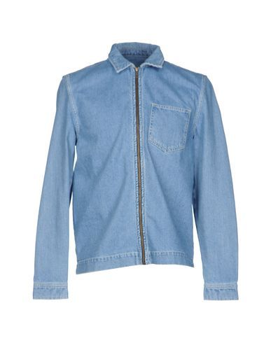 TOPMAN Men's Denim shirt Blue L INT