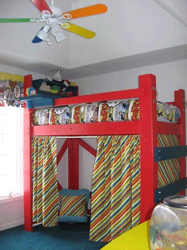 Kids Loft Bed Ideas 20 best loft bed ideas images on pinterest | lofted beds, 3/4 beds