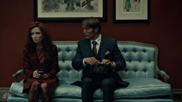 From Hannibal.  Dr. Lecter's office.  Nice sofa.