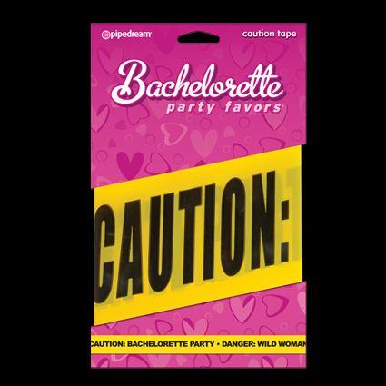 Caution Tape No cruzar...a menos que estés lista para un loca y divertida despedida de soltera. Un accesorio indispensable para una fiesta inolvidable.