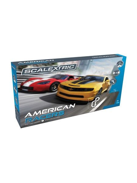 Scalextric American Racers Set - komplet sæt