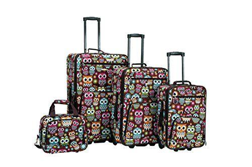 Rockland 4 Piece Luggage Set, Owl, One Size Rockland http://www.amazon.com/dp/B00K4F47KK/ref=cm_sw_r_pi_dp_l.Pexb1GS7D6J
