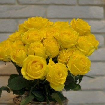 Trandafiri Galbeni cu livrare în Moldova