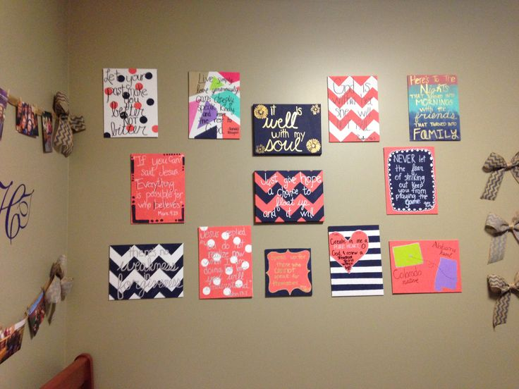 Diy Wall Art Dorm : Auburn university dorm room things i ve made