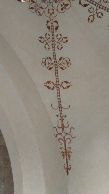 Takmålning klinte kyrka