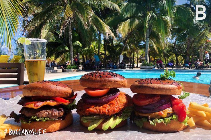 Burger time!! #Buccanoslife