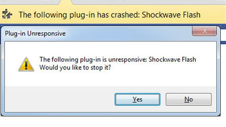 How to fix Shockwave Flash crashing in Google Chrome