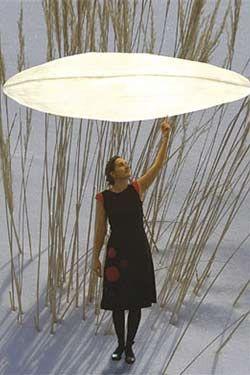 Cirrus suspension 4 lumières. Céline Wright.