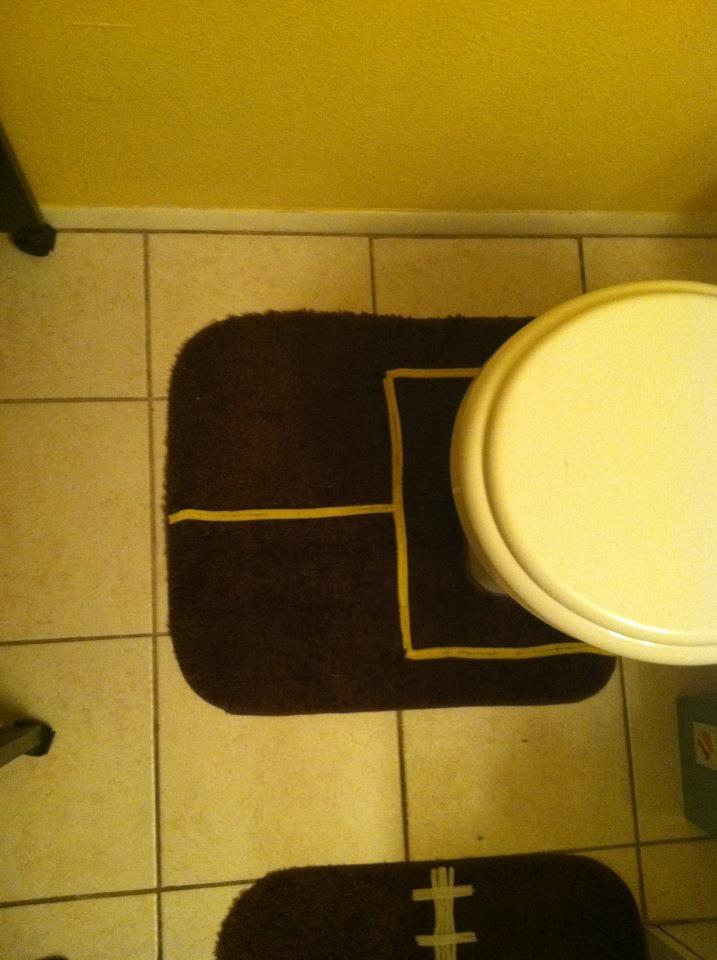 Sports bathroom (Nathan wants a sports bathroom)