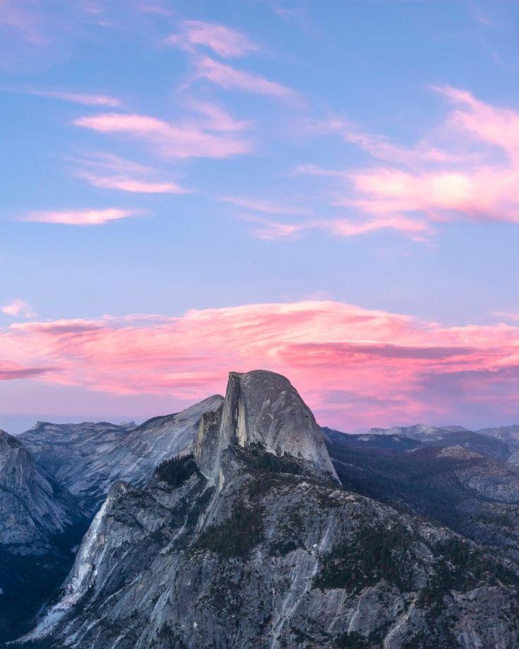 Half Dome – Snowy Tops