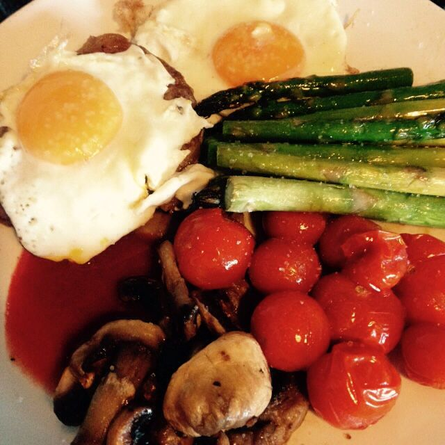 Steak and eggs - 90 daysss plan - The Body Coach - Cycle 2
