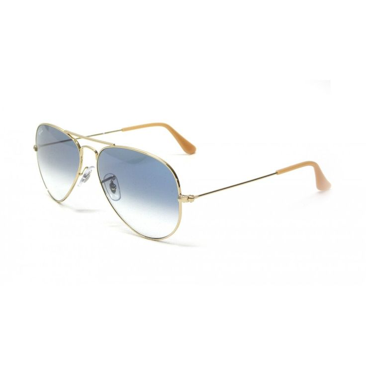 ray ban aviator gradient rb3025 purple rose gold sunglasses aru