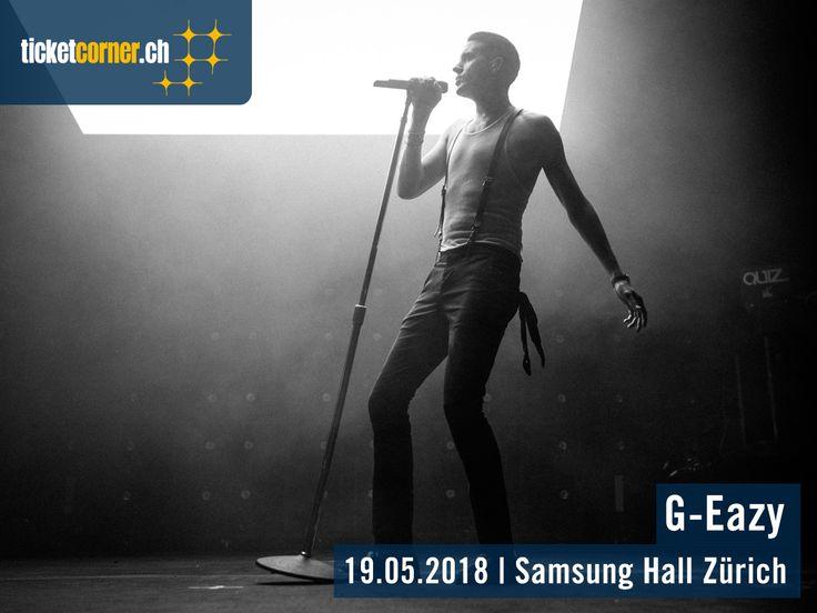 Die «The Beautiful & Damned Tour» von G-Eazy gastiert am 19. Mai 2018 in der Samsung Hall. Ob seine Duett-Partnerin im Hit «Him & I» und Freundin, Halsey, den Rapper begleitet, wissen wir leider nicht. Tickets: http://www.ticketcorner.ch/g-eazy
