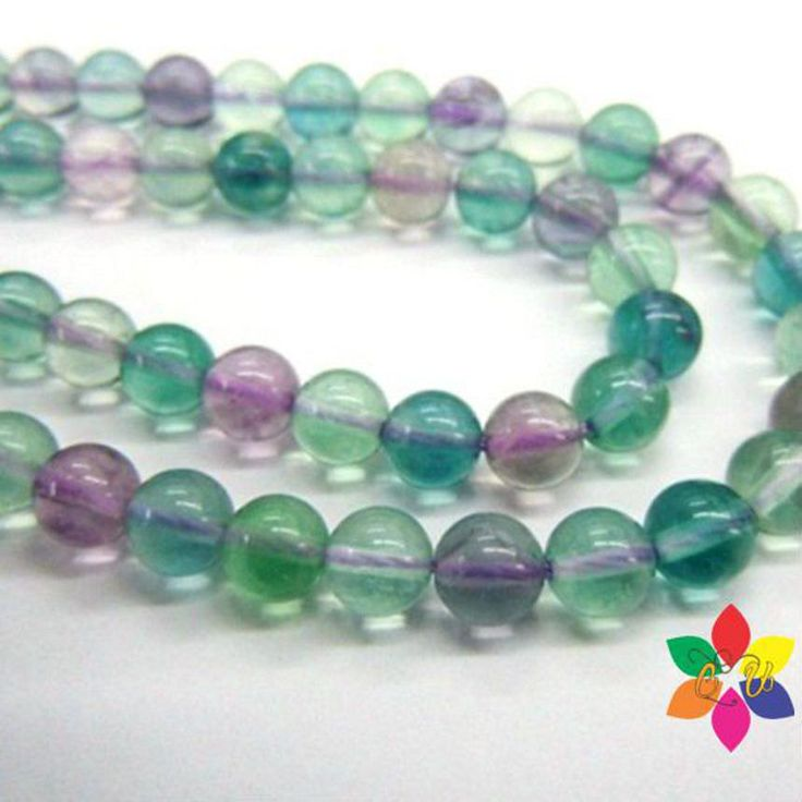 60% OFF Summer Sale AAA Quality Natural Flourite 6mm beads drilled Strand length 14 inches, multiple colours, smooth round beads by colorvilla on Etsy