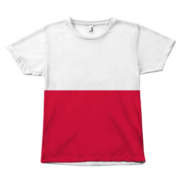 POLAND FLAG T-SHIRT Y1