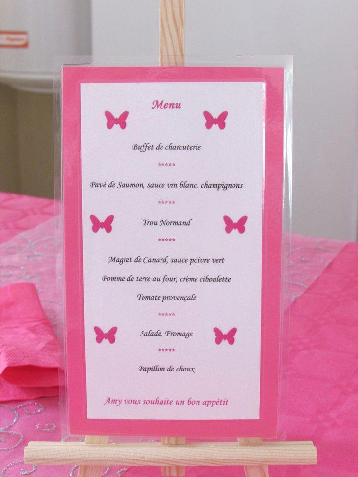 Les 25 meilleures id es de la cat gorie menu mariage chevalet sur pinterest menu mariage sur - Idee menu invitation amis ...