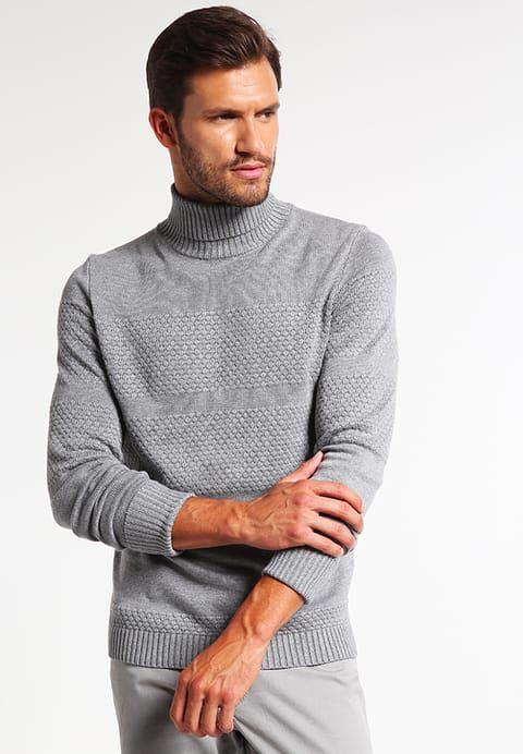 Pier One Sweter - grey melange za 135,2 zł (06.12.16) zamów bezpłatnie na Zalando.pl.