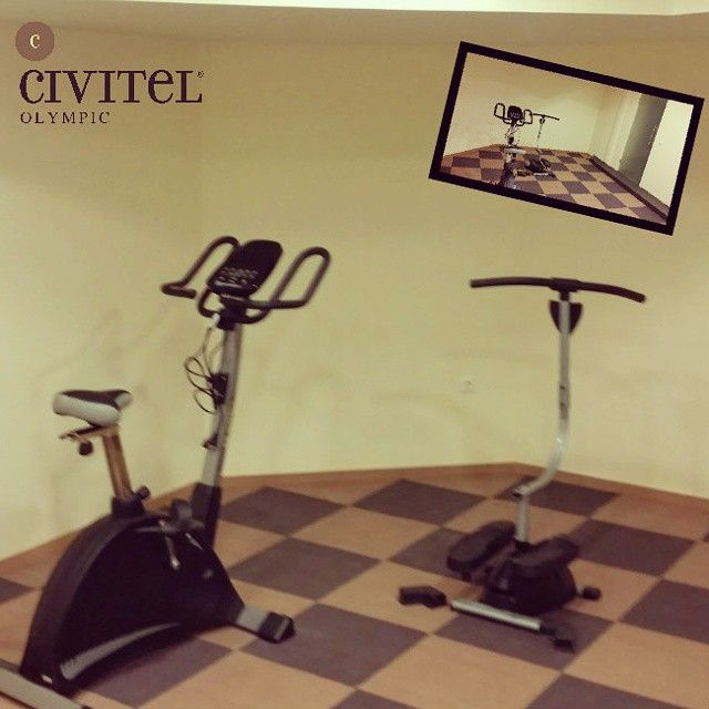 Brand new #FitnessRoom at #CivitelOlympic! #Athens #AthensHotels