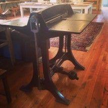 Antique Cast Iron Printers Press Table - R25000