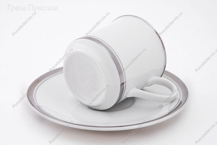 Кофейное шапо Кофейная пара | Набор кофейных чашек с блюдцем фарфоровых (Шапо кофейное или пара) 0,15 л | Отводка платина | Леандер (Leander) | Кофейные чашки с блюдцами | набор | leander посуда, leander фарфор, leander чехия, арфоровые чашки с блюдцем, кофейная пара, кофейная пара для эспрессо, кофейная чашка с блюдцем, кофейное шапо, кофейные пары для капучино, кофейные пары из фарфора, леандр, леандр посуда, набор кофейных чашек с блюдцами, набор посуды столовый, платина, платина отводка…