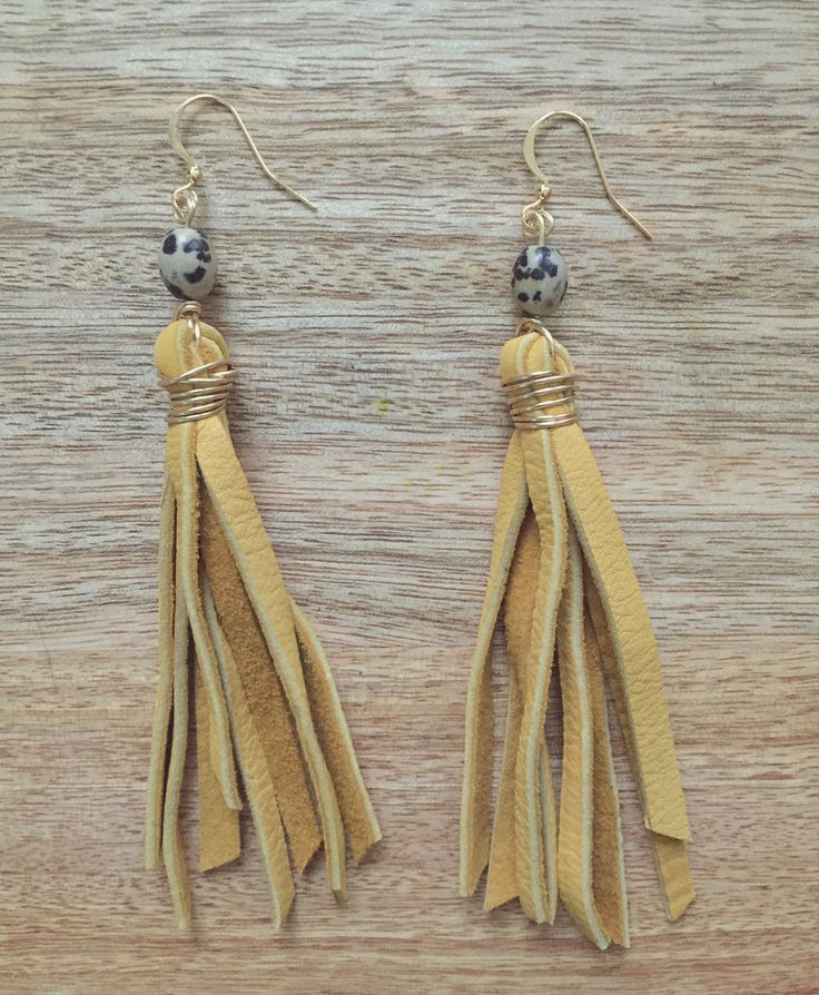 Raven & Riley - The Broadway in Yellow // @shopravenandriley on Instagram #ravenandriley #handmadejewelry #jewelry
