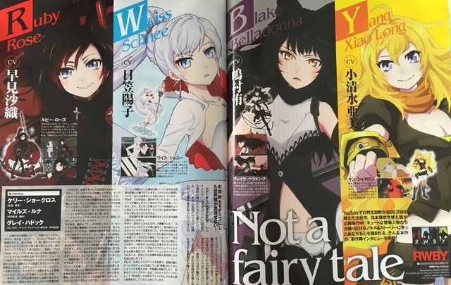 "Crunchyroll - Familiar Face Returns to the Top of ""Newtype"" Character Rankings While ""RWBY"" Joins Series Top 10"