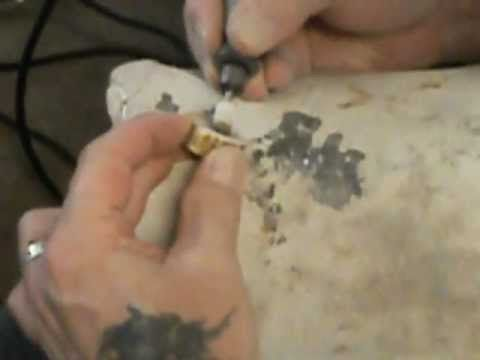 Antler Ring Carving (and talking about carving!) informative video just wish it didn't include all the cussing.