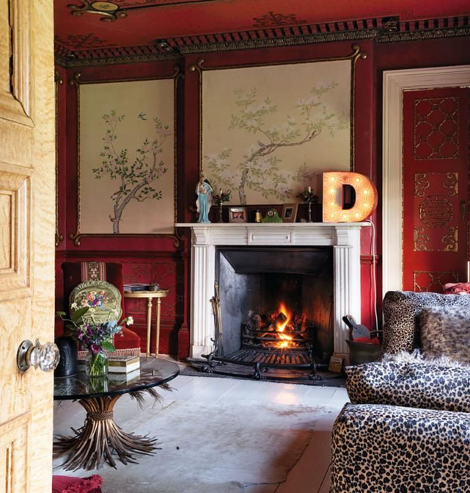 Pearl Lowe drawing room